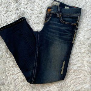 BKE Sabrina Cropped Stretch Jeans Size 25